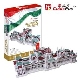 3D puzzle - Magyar Parlament 237 db-os