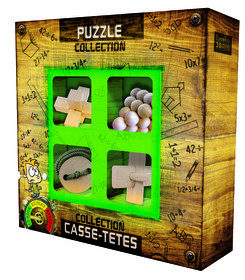 Puzzles collection JUNIOR Wooden