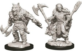 D&D Nolzur's Marvelous Miniatures: Male Half-Orc Barbarian