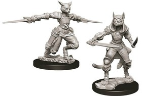 D&D Nolzur's Marvelous Miniatures: Female Tabaxi Rogue