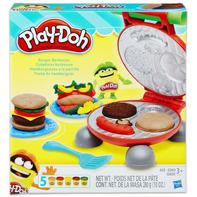 Play-Doh: burger grill szett