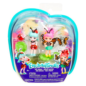 Enchantimals: Ladelia Ladybug és Baxi Butterfly