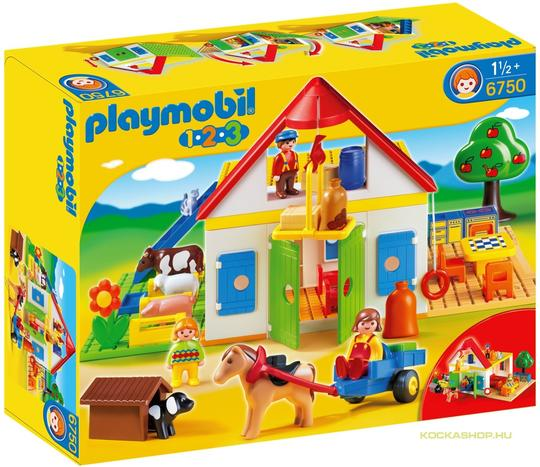 Playmobil 6750 - Farmgazdaság kis lurkóknak (6750)